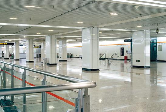 南京地铁三号线车站公共区装饰工程