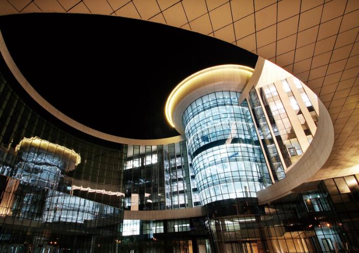 中航直升机天津产业基地建设项目总部研发中心幕墙工程