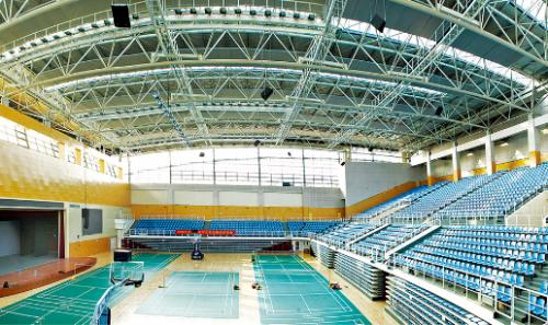 河海大学江宁校区综合体育馆装饰工程